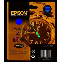 Epson inktcartridge: 27 DURABrite Ultra - Geel