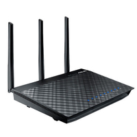 ASUS RT-AC66U Wireless router - Zwart
