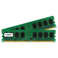 Crucial RAM-geheugen: 4GB DDR2 - Groen