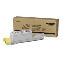 Xerox toner: Hoge Capaciteit Gele Tonercartridge, Phaser 6360 - Geel