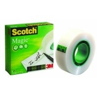 Scotch plakband: Magic Tape, 19mmx33m, Matt