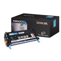 Lexmark cartridge: X560 4K cyaan printcartridge