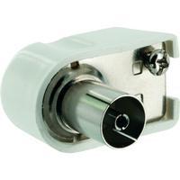 Schwaiger coaxconnector: WST06 102 - Wit