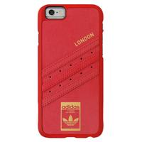 "Adidas mobile phone case: Cover case for iPhone 6/6s, 11.938 cm (4.7 "") , Faux leather, Red - Rood"