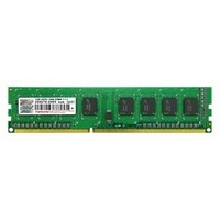 Transcend RAM-geheugen: 1GB, DDR3, PC3-10664, 240Pin DIMM, CL9, 128Mx8