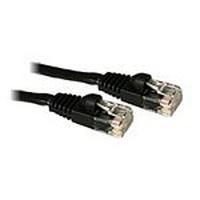 C2G netwerkkabel: 15m Cat5E 350MHz Snagless Patch Cable - Zwart