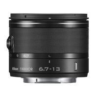 Nikon camera lens: 1 NIKKOR 6.7-13mm f/3.5-5.6 VR - Zwart