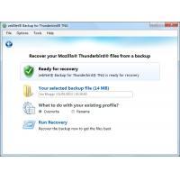 ZebNet product: Backup voor Thunderbird TNG - 1 Gebruiker