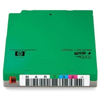 Hewlett Packard Enterprise datatape: LTO4 Ultrium - Groen