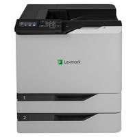 Lexmark laserprinter: CS820dte - Zwart, Cyaan, Magenta, Geel