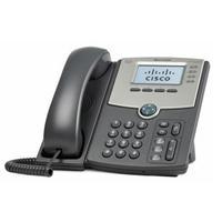 Cisco ip telefoon: 4 Voice lines, EHS, PoE, 2 x 10/100/1000BASE-T RJ-45, 1.1 kg - Grijs