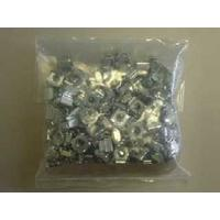HP Hardware kit - M6 captive nuts - Used along with screws to install equipment in a rack or cabinet - Package of 50 .....