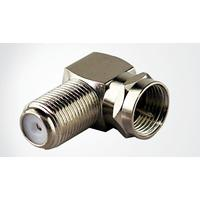 Schwaiger coaxconnector: WAD8321 201 - Zilver