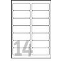 Avery White Heavy Duty Labels - Laser - L7063 Etiket - Wit