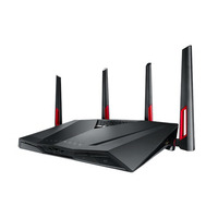 ASUS wireless router: RT-AC88U - Zwart