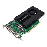 PNY videokaart: Quadro 2000D, 2GB GDDR5, 128-bit