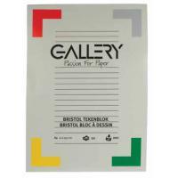 Gallery TEKENBLOK BRISTOL DIN A4 20BL tekenpapier