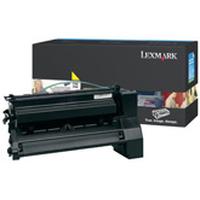 Lexmark cartridge: C782, X782e 15K gele printcartridge - Geel