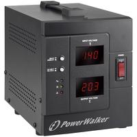 PowerWalker AVR 2000/SIV Voltage regulator - Zwart