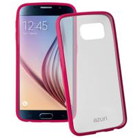 Azuri mobile phone case: Bumper cover voor Samsung Galaxy S6 (roze)