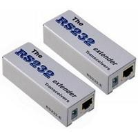 Newstar netwerk verlenger: UTP Serial Extender - Zilver