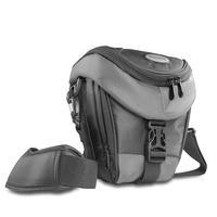 Mantona Premium Holster Tas, zwart/grijs