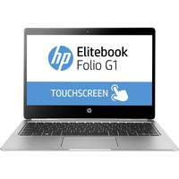 HP laptop: EliteBook Folio G1 - Intel Core m7 - Touchscreen - Zilver