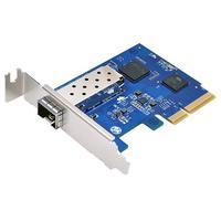 Synology netwerkkaart: SFP+, IEEE 802.1Q/802.3x/ae, 10 Gigabit Ethernet - Blauw, Metallic