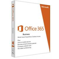 Microsoft software suite: Office 365 Business Open - 1 Licentie