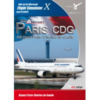 Aerosoft Mega Airport Paris CDG (FS X Add-On) (DVD-Rom) (10233)
