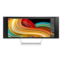 "HP monitor: Z34c 34"" UltraWide Quad HD  - Zwart, Zilver"