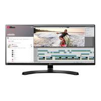 LG monitor: 34UM88 - Zwart