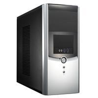 Compucase 6K11BS-U3T, Mini-Tower/Micro ATX, 2x5.25