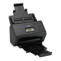Brother scanner: Desktop scanner - 50 ppm - dubbelzijdig - Wireless - NFC - Zwart