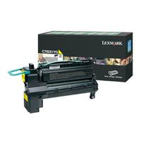 Lexmark cartridge: C792 20K gele retourprogramma printcartr. - Geel