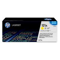 HP toner: 121A gele LaserJet tonercartridge, Circa 4000 pagina's bij 5% dekking - Geel