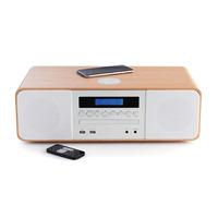 Thomson home stereo set: 50 W, Bluetooth, USB, AAA - Wit
