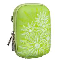 Rivacase 7023 (PU) Digital Case green (flowers)