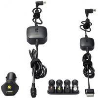 ASUS oplader: N90W-01 Combo Car Charger, Black - Zwart
