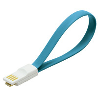 LogiLink USB kabel: USB/Micro USB - Blauw