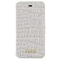 GUESS mobile phone case: Shiny Croco - Beige