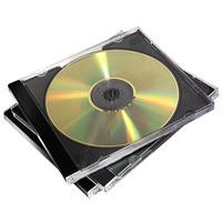Fellowes CD/DVD jewelcase Zwart - 10 Stuks