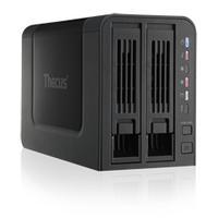 Thecus NAS: N2310 - AMCC APM 86491 800MHz, 512MB DDR3, RJ-45x1: 10/100/1000 BASE-TX Auto MDI/MDI-X, USB 2.0, USB 3.0, 2 .....