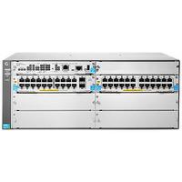 Hewlett Packard Enterprise switch: 5406R-44G-PoE+/2SFP+ v2 zl2 - Grijs