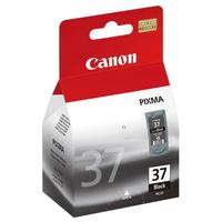 Canon inktcartridge: PG-37BK - Zwart