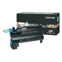 Lexmark cartridge: Cyan Extra High Yield Return Program Print Cartridge - Cyaan
