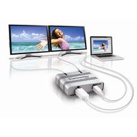 Matrox DualHead2Go Digital ME Video splitter - Zilver