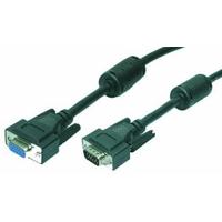 LogiLink VGA kabel : 5m VGA - Zwart
