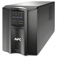 APC UPS: Smart 1000VA LCD 230V -  5 jaar garantie bundel - Zwart