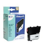 Pelikan inktcartridge: LC985bk - Zwart